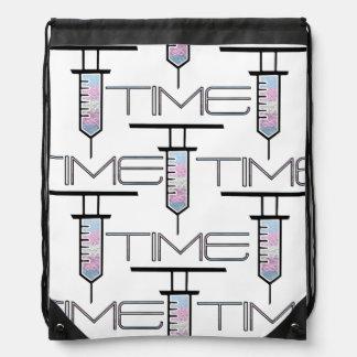 T-Time Logo Drawstring Bag