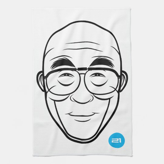 T-Toalla de Dalai Lama Toallas De Mano