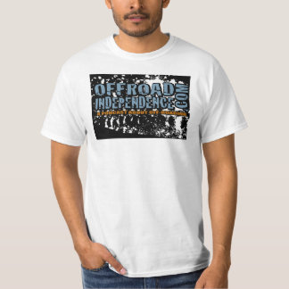 T-Track Off-roand independence Podcast Logo Tee