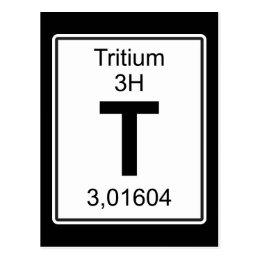 T - Tritium Postcard