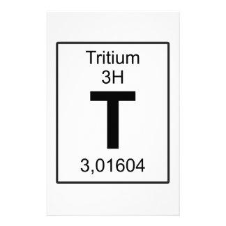 T - Tritium Stationery