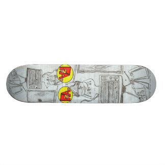 T V babies Skate Board Decks