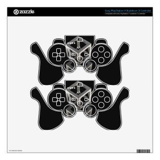 T w o C u b e s PS3 Controller Decal