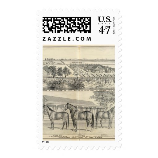 T Winters farm Postage Stamp