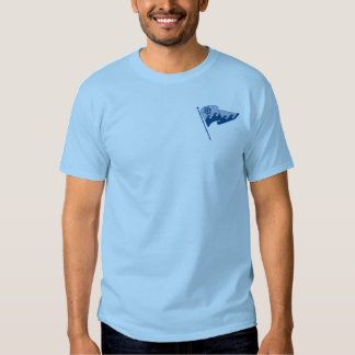 T with pockets - PMYC Waving Burgee on front only T-shirt