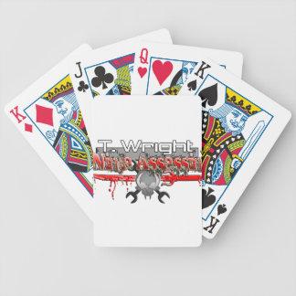 T. Wright Ninja Assassin Zx14 Card Decks