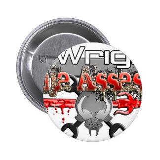 T. Wright Ninja Assassin Zx14 Pinback Buttons