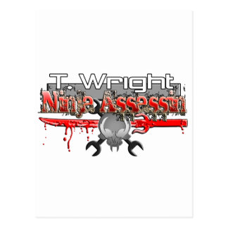T. Wright Ninja Assassin Zx14 Post Cards