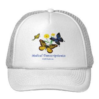 TA de la mariposa Gorro De Camionero