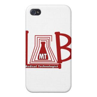 TA DEL LOGOTIPO DEL FRASCO DEL LABORATORIO - TECNÓ iPhone 4/4S FUNDAS