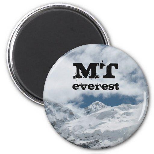 TA Everest por interesante Imán Redondo 5 Cm