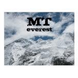 TA Everest por interesante Tarjeta Postal