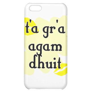 t'a gr'a agam dhuit - Irish I love you iPhone 5C Cover