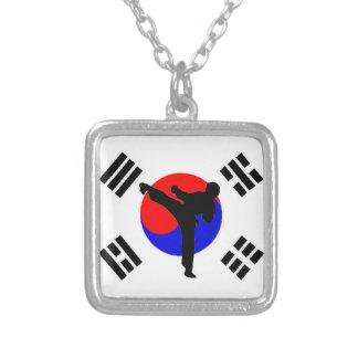 Ta Kwon Do Man Necklace