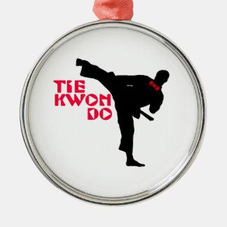 Ta Kwon Do (Tie Kwon Do) Christmas Tree Ornaments