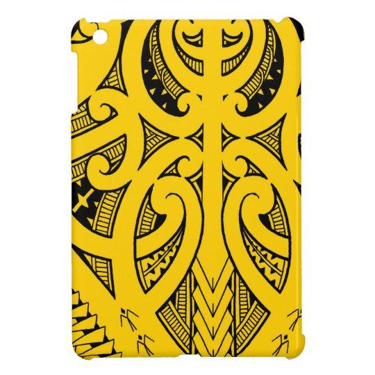 Ta Moko Traditional Maori Tattoo Design Koru Shape Case