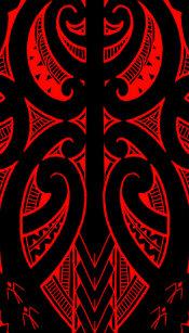 842fd9016 Ta Moko traditional Maori tattoo design koru shape iPhone SE/5/5s Case