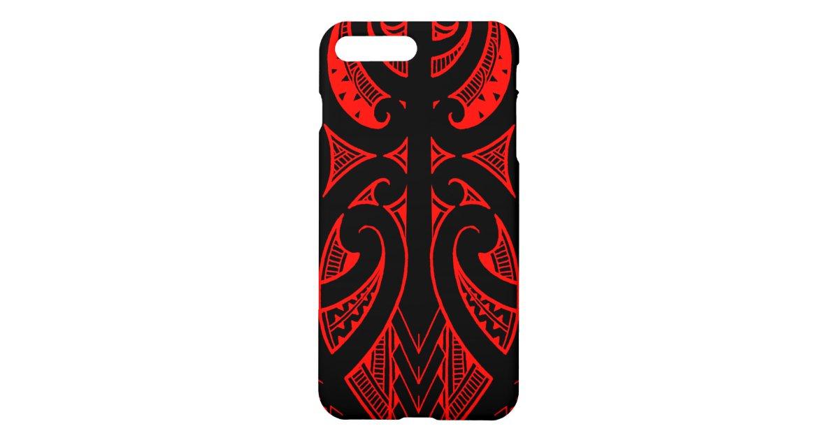 4a1951b9f Ta Moko traditional Maori tattoo design koru shape iPhone Case | Zazzle.com