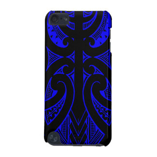 Ta Moko traditional Maori tattoo design koru shape iPod Touch (5th Generation) Case