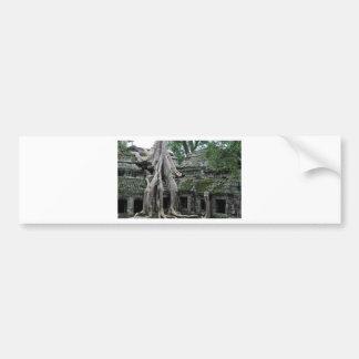 ta prohm in cambodia bumper stickers