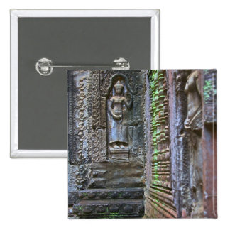 Ta Prohm Temple, Siem Reap Province, Cambodia 2 Pinback Buttons