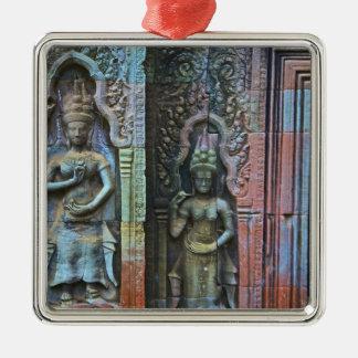 Ta Prohm Temple, Siem Reap Province, Cambodia Metal Ornament