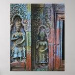 Ta Prohm Temple, Siem Reap Province, Cambodia Print