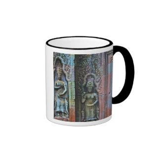 Ta Prohm Temple, Siem Reap Province, Cambodia Ringer Mug