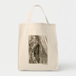 Ta Prohm Woman Organic Tote Grocery Tote Bag