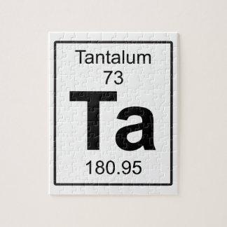 Ta - Tantalum Puzzle