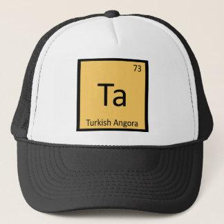 Ta - Turkish Angora Cat Chemistry Periodic Table Trucker Hat