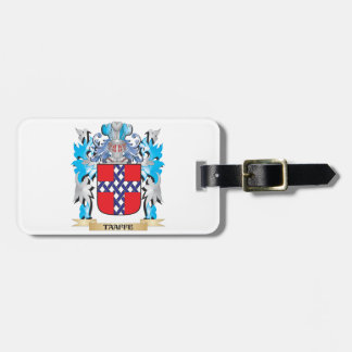 Taaffe Coat of Arms - Family Crest Tag For Luggage