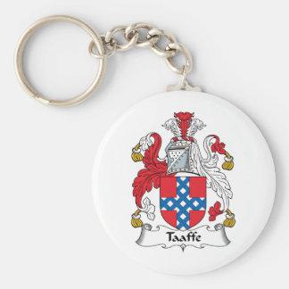 Taaffe Family Crest Basic Round Button Keychain