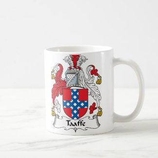 Taaffe Family Crest Classic White Coffee Mug