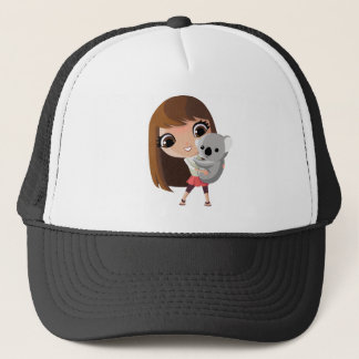 Taara and Pudding the Koala Trucker Hat