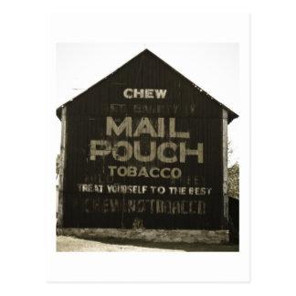 Tabaco de la bolsa de correo del Chew - final Postales