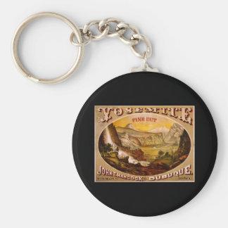 Tabaco del corte fino de Yosemite Llavero Redondo Tipo Pin
