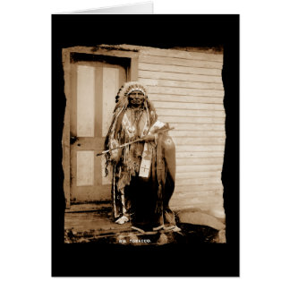 Tabaco grande del nativo americano del vintage un