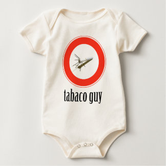 tabaco-guy baby bodysuit