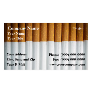 Tabaco Tarjetas De Visita