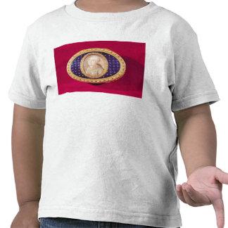 Tabaquera con una miniatura del retrato de Louis Camiseta
