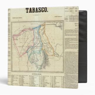 Tabasco, Mexico 3 Ring Binder