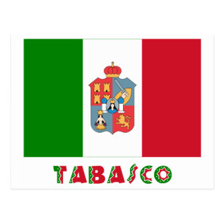 Tabasco Unofficial Flag Postcard