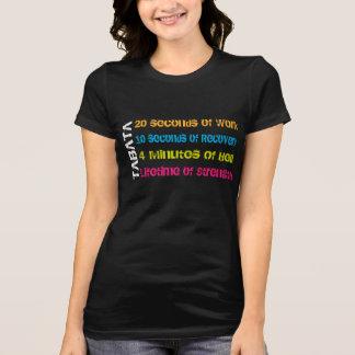 Tabata Crossfit Workout T-shirts
