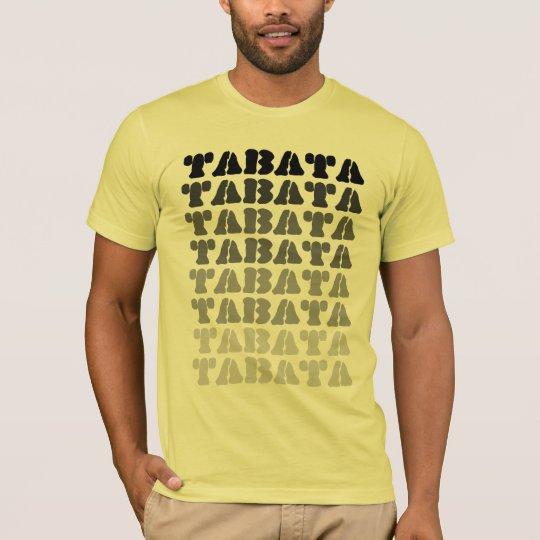 Tabata on Lemon American Apparel Tee