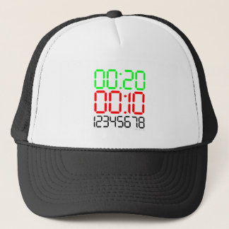 Tabata Time Trucker Hat