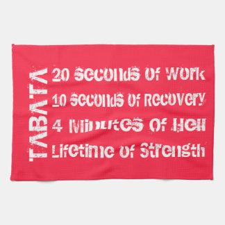 Tabata Workout Towel