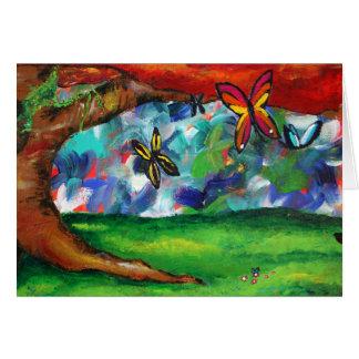 Tabbitha's Painting Greeting Card