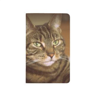 Tabby Cat 1960s Vintage Style Postcard Journal