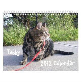 Tabby Cat 2012 Calendar calendar